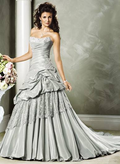 Orifashion Handmade Gown / Wedding Dress MA217