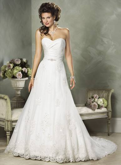 Orifashion Handmade Gown / Wedding Dress MA221