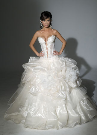 Orifashion HandmadeLuxury Sexy Bridal Gown / Wedding Dress SW020
