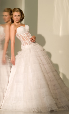 Orifashion HandmadeRomantic Sexy Bridal Gown / Wedding Dress SW0